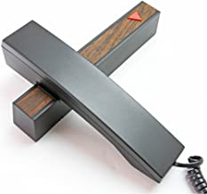 (カークプラス)KIRK PLUS デザイン電話機 シンプル デザイン子機 親機 留守番 おしゃれ電話機 北欧デザイナーの逸品 木目調