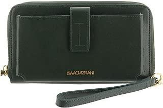 Isaac Mizrahi Signature Leather Wallet Gift Box A284380