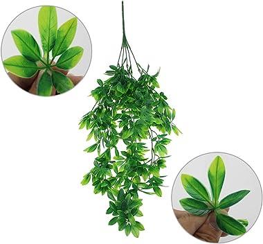 BlueXP 2 Pièces Lierre Artificielle Plante Guirlande 80cm Suspendues Fausse Plastique Plantes Vigne pour Intérieur ou Extérie