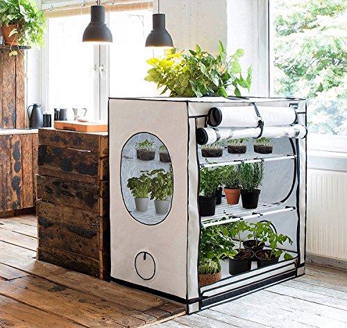 Grow box Homebox Vista Medium - 125 x 65 x 120 cm