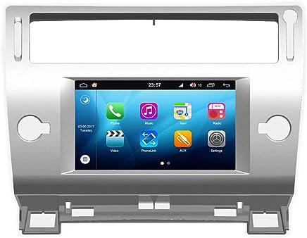 SPDIF DSP St/ér/éo de Voiture JOYFORWA 7 Pouces Simple Din 4Go D/émarrage Rapide Android Auto WiFi Android 8.1 Autoradio 64Go avec Connexion 4G LTE