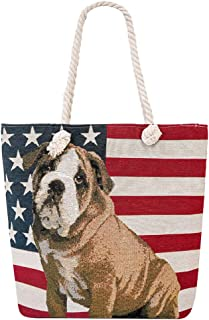 Large Beach Travel Canvas Tote Cute Shoulder Shopping Bag