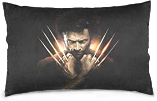 GTSDHNYH Wolverine Decorative Pillow Cover 20X36 Inch Throw Pillow case Cushion Covers for Home Decor Design