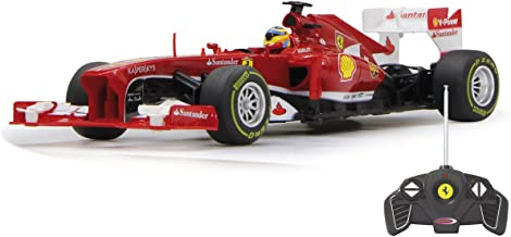 Jamara- Ferrari F1 Vehículos de Control Remoto, Color Rojo (404515)
