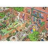 N+A Puzzles de Madera para Adultos 1000 Piezas Puzzle Patio Interesante Puzzle Domingo Diariamente Puzzle para Niños Descompresión y Regalo