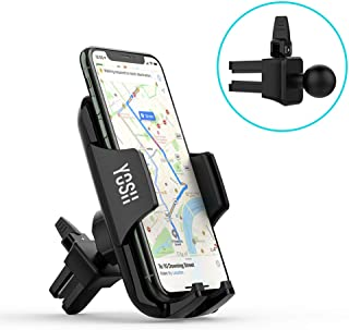 YOSH Air Vent Phone Holder Car Phone Holder with 2-level Adjustable Clamp 360° Rotation car vent phone holders for iPhone X XR 8 7 6s Plus Samsung S9 S8 Huawei P20 Mate20 Wileyfox Sony Moto Xperia