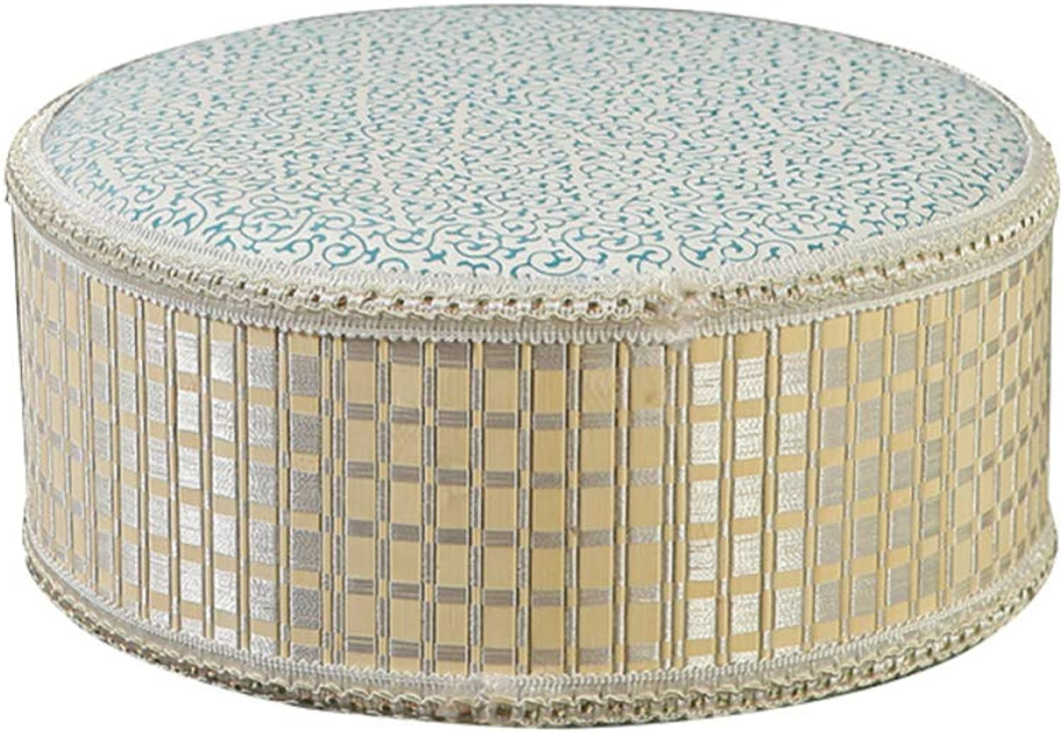 Pouffe Chair Change shoes Stool Straw Bench Stool Woven Stool Fashion Creative Pouf Stool