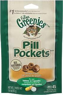 Greenies Feline Pill Pockets Treats for Cats Chicken Flavor