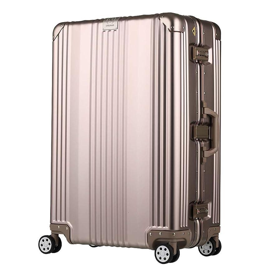急ぐ名義でフィクション[レジェンドウォーカー] スーツケース アルミ 保証付 65L 63 cm 5.3kg