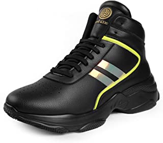 Bacca Bucci® High Top Street Fashion Sneakers/Casuals -Ignite High Top Shoes for Streets/Travel/Parties and Fun