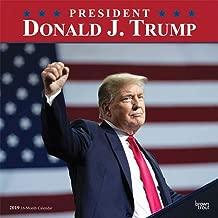 President Donald J. Trump 2019 12 x 12 Inch Monthly Square Wall Calendar, Celebrity Apprentice President Trump Tower Republican POTUS