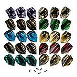 IgnatGames 10 Set di Freccette Alette e 6 Protezione di Alette