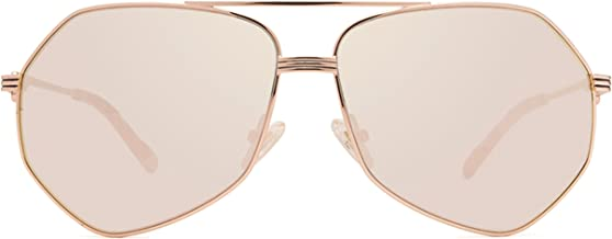 Diff Eyewear: Sydney - Designer Aviator Sunglasses - 100% UVA/UVB