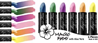 Magic Kiss Lipstick Set Aloe Vera Color Changing Best Seller MADE IN USA