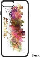 DIYthinker Atlanta América del País Ciudad Acuarela Ilustración para iPhone 7 Casos phonecase Cover de Apple Caso 7 Caso de iPhone Regalo
