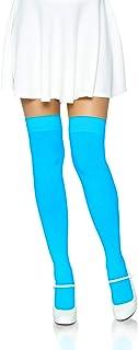 Leg Avenue Women's Solid Hue Thigh Highs