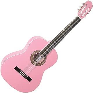 Santa Rosa KCL330P Guitar 39-Inch Size Nylon String, Pink