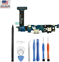 USB Charger Dock Charging Flex Port for Samsung Galaxy S6 Edge Sprint S6 G925P + Premium Tools