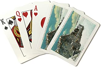 Rocky Mountain National Park, CO - Fall River Pass Trail Ridge Museum Bldg (Playing Card Deck - 52 Card Poker Size with Jokers)