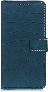 zl one Compatible with/Replacement for Phone Case LG K20 2019 PU Leather Wallet Case Card Slots Flip Cover (Green)