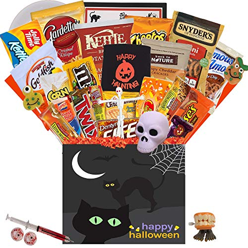 The Ultimate Halloween College Care Package with 34 Items