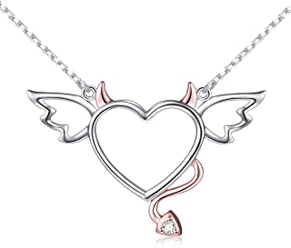 Best heart with angel and devil wings Reviews