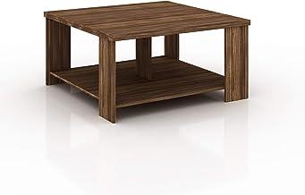 Tecnomobili Coffee Table, Brown, MC2221, Size: 45.5 cm*90 cm*90 cm