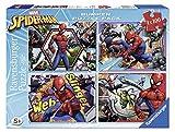 Ravensburger- Puzzle 4 x 100 Piezas Bumper Pack, Spiderman (6914)