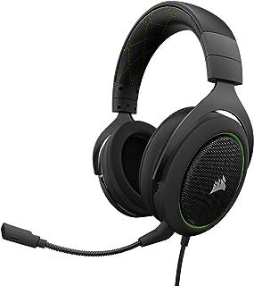 Corsair HS50 Stereo Gaming Headset, Green (CA-9011171-NA)