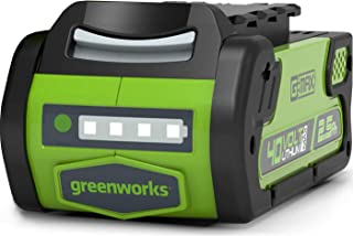 Greenworks Tools Batería G40B25 - Batería potente y recargable de Li-Ion 40V 2,5Ah, apta para todos los dispositivos de la...