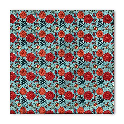 Soefipok Pañuelo floral, flores de venus atrapamoscas, cabeza y corbata unisex Cinta para la cabeza Cinta para la cabeza