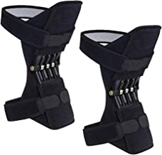 2 Packs Madala Power Knee Brace Joint Support, Power Knee Stabilizer Pads, Protective Gear Booster with Powerful Springs f...
