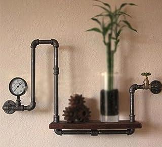 LOFTzs Estantes de Pared Retro Retro Cortina de Agua Estantería Muros Decorativos Soportes de Pared decoración Retro