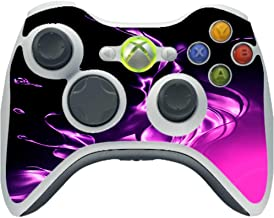 Purple and Pink Splash Vinyl Decal Sticker Skin by Moonlight4225 for Xbox 360 Wireless Controller
