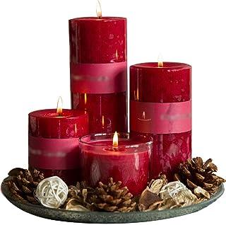 Bougie Cire Parfumée À La Rose Naturelle, Parfum D'huile Essentielle Romantique pour Bougies De Restaurant, Parfum De Long...