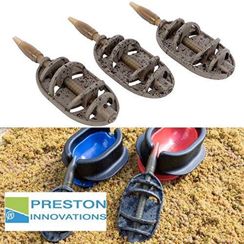 Preston ICS IN-LINE DURA Flat Method FEEDERS Futterkorb Large 45g