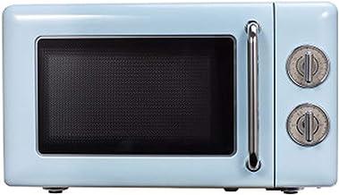 HANYF Microondas retro, placa de cocina microondas / 6 velocidades de fuego / sensor inteligente, 0,7 pies cúbicos de fácil limpieza en el interior, capacidad de 20 litros