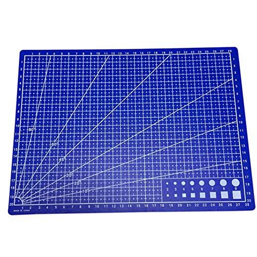 FICI Snijmatten A4 Grid Dubbelzijdig Plaat Ontwerp Graveren Model Gemedieerde Mes Schaal Gesneden School Kantoorbenodigdheden 30 * 22cm