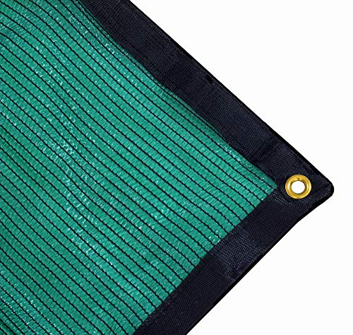 Harvest 70% Green Shade Cloth with Grommets, Premium Heavy Duty Mesh Tarp (12ft X 8ft)