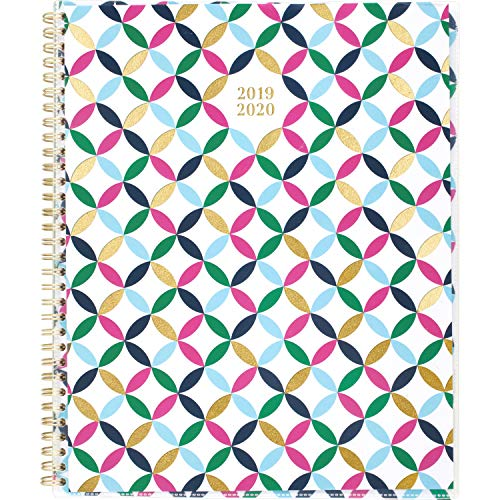 2019-2020 Academic Planner, Cambridge Weekly & Monthly Appointment Book, 8-1/2u0022 x 11u0022, Large, Customizable, Blair Geo (1184G-901A) (1184G-901A-20)