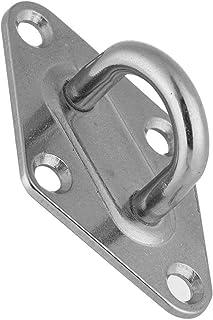 Asixxsix Placa del Ojo del cojín del Gancho del Techo del Diamante del Acero Inoxidable, Ojo del cojín, para la Hamaca de la Yoga(ZWS3211-6, (6mm))