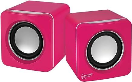 Arctic S111 Altoparlanti USB Portatili per PC o Notebook, Design compatto, Sound Equilibrato, Rosa - Trova i prezzi più bassi