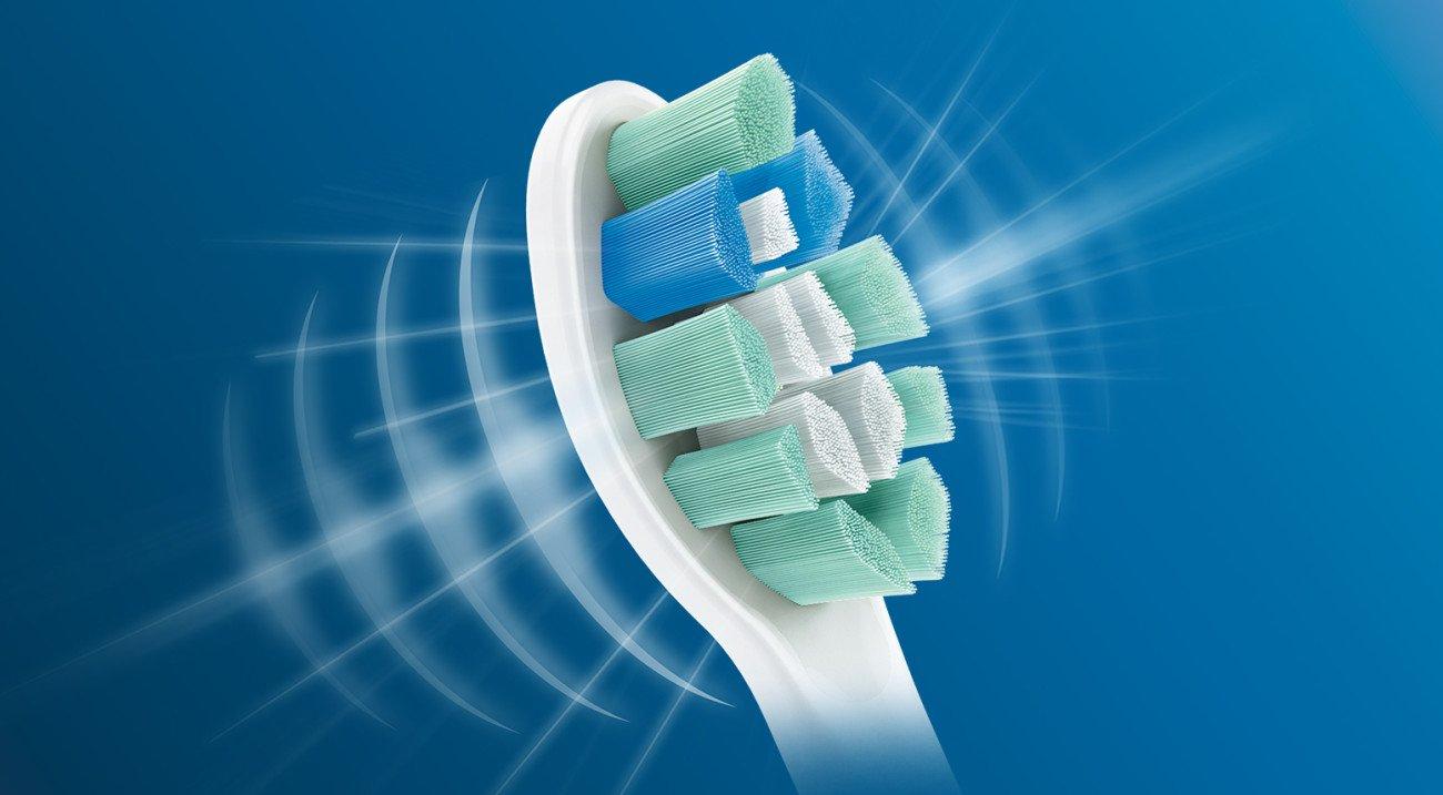 Philips Sonicare HX9023/65 Genuine C2 Optimal Plaque Control Toothbrush Head, 3 Pack, White