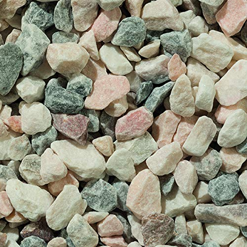 Flamingo Decorative Aggregates Stone Chippings Garden Gravel Pebbles 20mm 20 Kg Bags