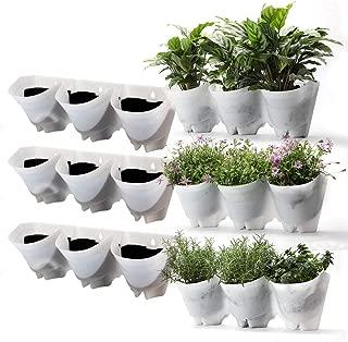 outdoor vertical wall garden planters