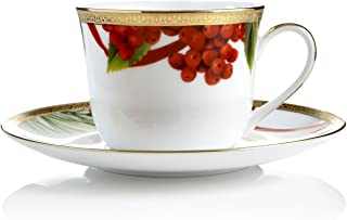 Charter Club Dinnerware, Holly Berry Round Cup and Saucer