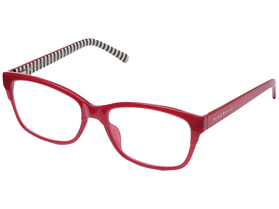 Kate Spade New York Tenille (Milky Red) Reading Glasses Sunglasses