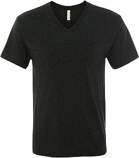Next Level Men's Tri-Blend V (Vintage Black) (Large)
