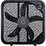 Genesis 20' Box Fan, 3 Settings, Black (G20BOX-BLK)