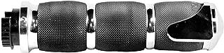 Avon Metric Cruiser Grips with Avon Boss - Air Cushioned - Chrome MT-AIR-90-CH-BOSS